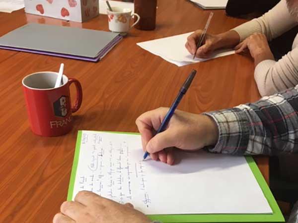 atelier parole écriture